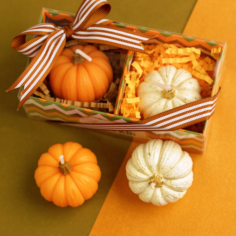 Halloween Wedding Gift Ideas: Halloween Party Supplies Creative Pumpkin Candles Child
