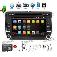Samochodowy Odtwarzacz Multimedialny 7 calowe 2 din GPS Stereofoniczne Radio GPS VW passat B6 B7/CC Tiguan Radiowych doulde din android 6.0 car dvd odtwarzacz