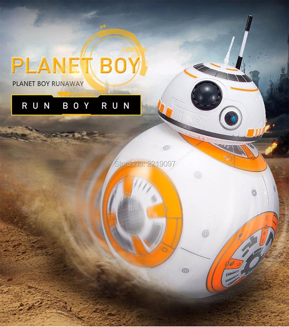 Star Wars Remote Control BB-8 Robot 20.5cm 6