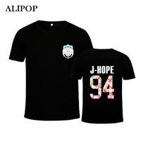 ALIPOP KPOP Fashion BTS 2th Album WINGS Bangtan Boys Hip Hop HipHop Monster Cotton Tshirt K