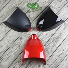 Retro motorcycle modification custom cafe racer scrambler dirty bike tail seat cushion saddle cover with led rear light E8