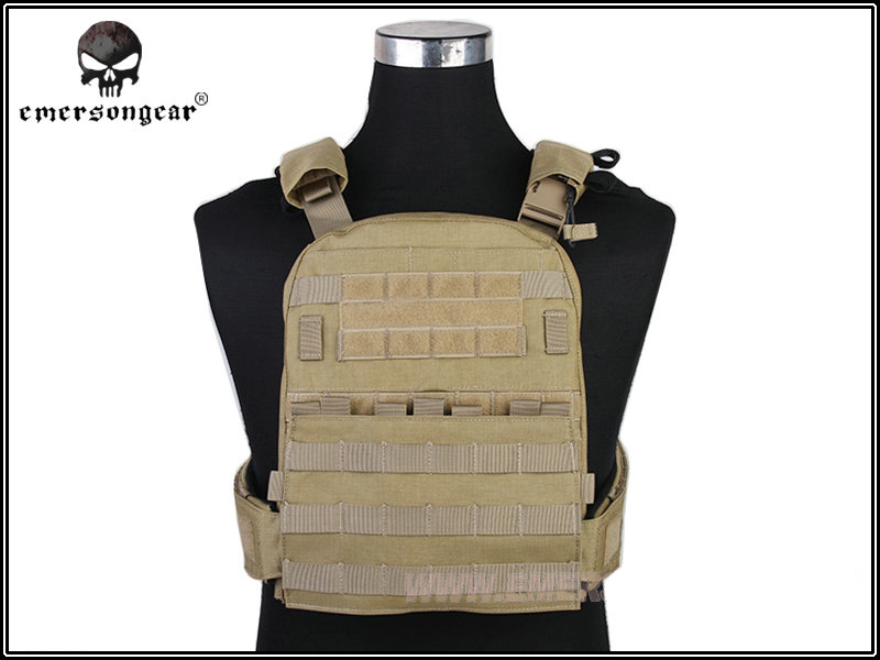 EMERSON CP Style Adaptive Vest Heavy Version Outdoor Sport Hunting Vest Airsoft Paintball Military Army Combat Gear EM7397 Khaki