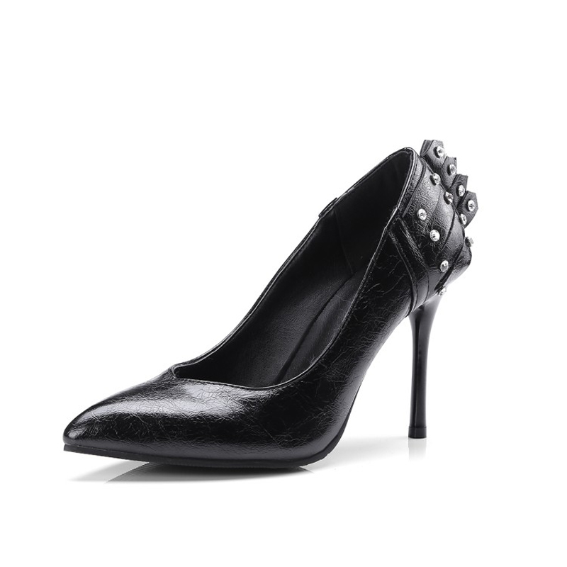 Women High Heels 10 CM Gold Black Pumps 2018 Fashion New Wedding Shoes Pointed Sequined Shallow Pump Shoes for Women Sexy Party цены онлайн