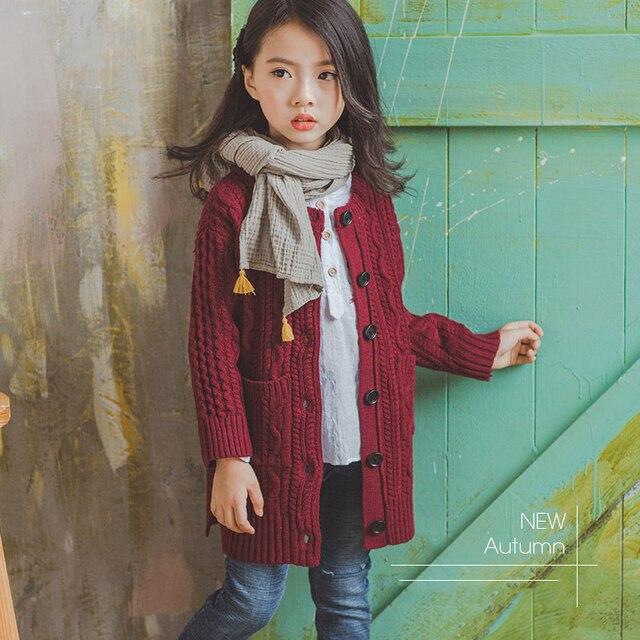 5d1e83668fae 2018 Bé Gái Màu Đỏ Cardigan Hoa Thiết Kế Dễ Thương Áo Mùa Xuân cho trẻ