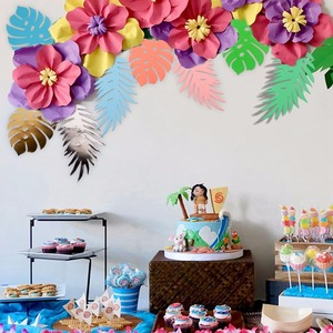 Image 4 - FENGRISE 20cm DIY Paper Flowers Backdrop Decorative Artificial Flowers Wedding Favors Birthday Party Home Decoration