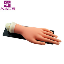KADS Nail Premium Soft Hand Nails Accessories For Draw & Decorate Practice Product Nail Practic Hand