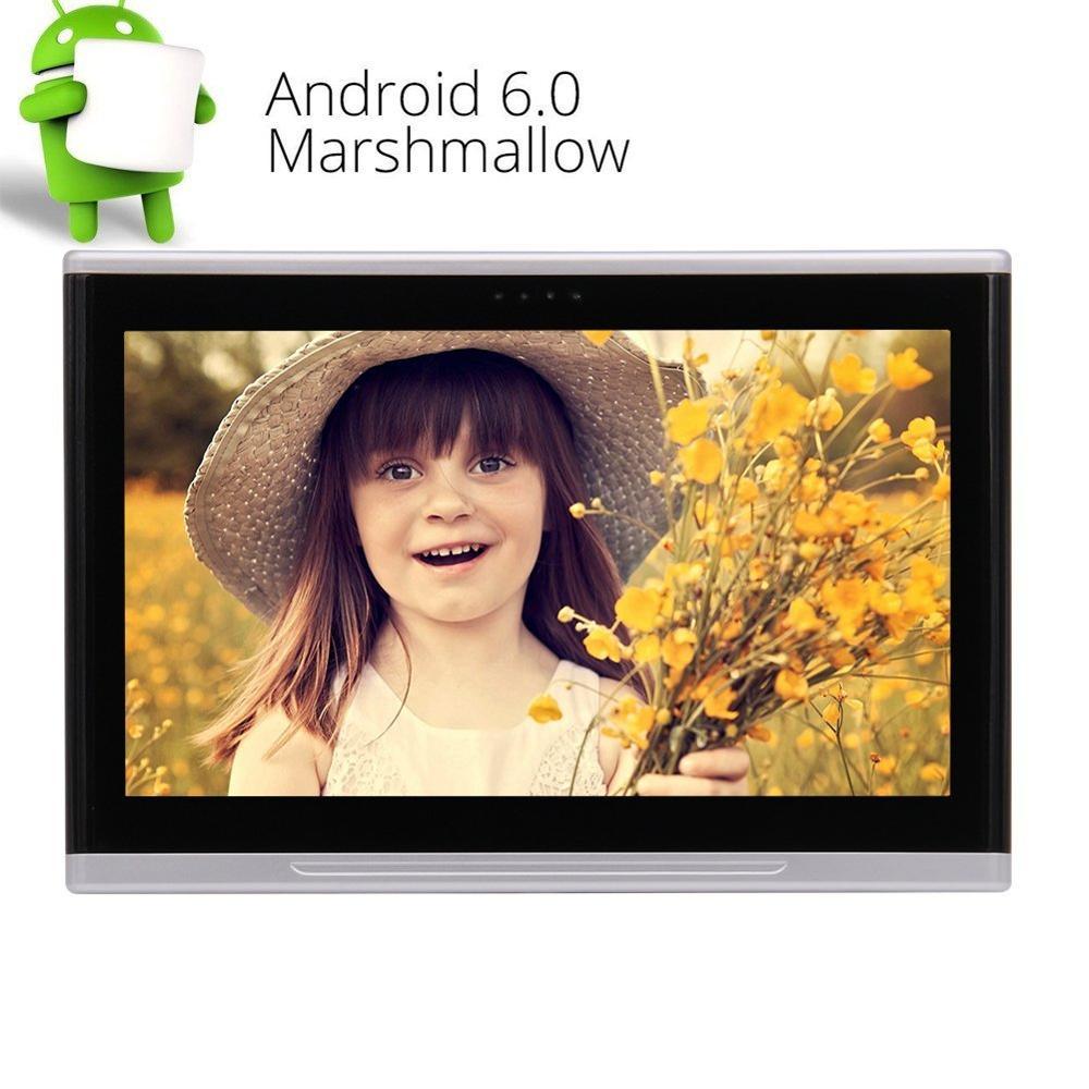 Android 6.0 Планшеты Стиль подголовник автомобиля 10.1 емкостный сенсорный экран заднего сиденья Развлечения с USB/SD /HDMI Порты и разъёмы Wi Fi