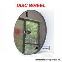 700C Rear Carbon Disc Wheel Clincher Tubular Optional for Road Bicycle/ Triathlon/ TT/ TRACK Bikes/ Fixed Gear Bike UD 3K 12K