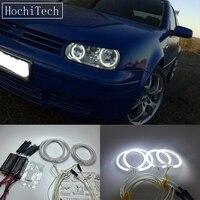 HochiTech For Volkswagen VW GOLF4 MK4 Typ1J Ultra Bright Day Light DRL CCFL Angel Eyes Demon