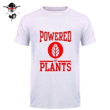 """Power By Plants"" Vegan Men's T-Shirt"
