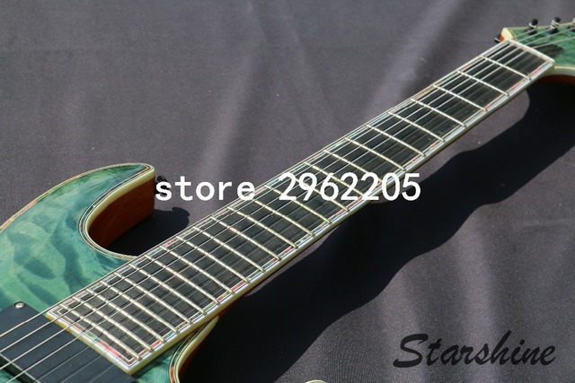 7 string guitar Electric Guitar, 24F All Colors available -Free shipping  1