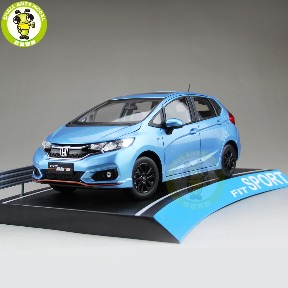 1/18 Honda FIT Sport 2018 Diecast Metal Car Model Toys Boy Girl Birthday Gift Collection Hobby Blue1/18 Honda FIT Sport 2018 Diecast Metal Car Model Toys Boy Girl Birthday Gift Collection Hobby Blue
