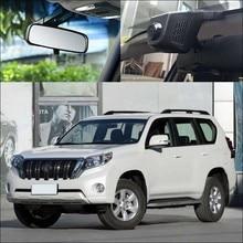 Bigbigroad для Toyota Prado zelas Wish Urban Cruiser автомобилей, Wi-Fi видеорегистратор FHD 1080 P регистраторы ночного видения черный ящик