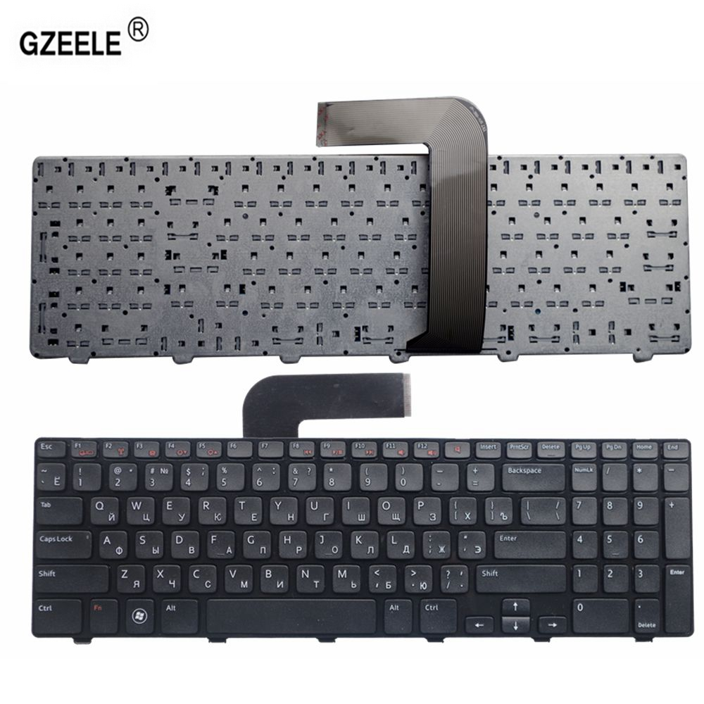 GZEELE Laptop Keyboard for Dell Inspiron 15R Ins15RD-2528 2728 2428 M501Z M5110 M511R N5110 NEW RU layout black RUSSIAN keyboard free shipping original new ru russian laptop keyboard for dell inspiron 15r n5110 m5110 n 5110 m511r m501z black frame black