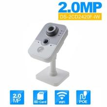 Wireless security camera DS-2CD2420F-IW OEM poe IP camera onvif beveiligings camera wifi kamepbl 2MP Baby Moniter