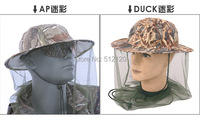 Free shipping Outdoor Sports Tactical BONNIE HATS Round-brimmed Sun Bonnet Midge Mosquito Fly Insect protection fishing hat H109