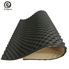 EE support 50cm*100cm*20mm Acoustic Foam Car Van Sound Proofing Deadening Insulation KTV Room Absorber Automotive interior