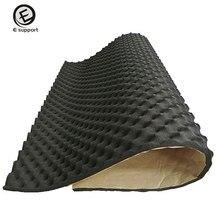 EE Поддержка 50 см * 100 см * 20 мм акустической пены автомобилей Ван звукоизоляция мертвящей изоляции КТВ Номер звукоизоляционными Автомобильный интерьер