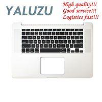 YALUZU new For Macbook Pro Retina 15 A1398 2015 year Top case Palmrest w keyboard upper case cover English keyboard 661 02536