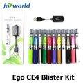 Apego hierba seca para el humo de colores e cig ego t batería Ego CE4 Kit Blister giro vaporizador e-cigarrillo ego-t ce4 atomizador MM