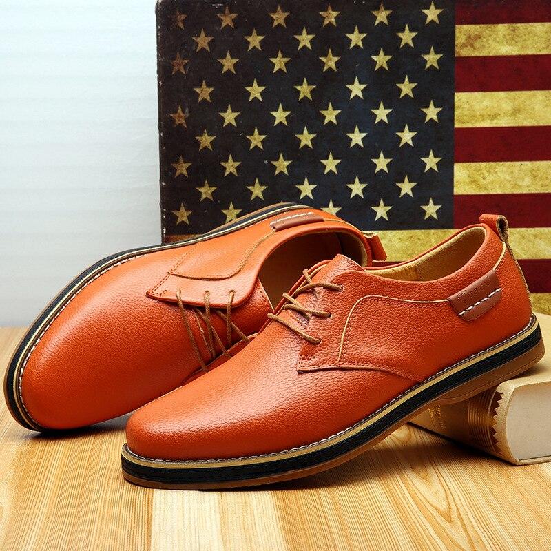 Qualité Chaussures De Hommes Automne bleu Haute Cuir Hiver Mode D'affaires Homme Black D'origine Asifn En Supply Travail Mâle Nouveau Casual Angleterre qU1nPWwEx