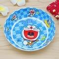 Kawaii Hello Kitty Children Strong Anti-shock Round Bowl Kid Cartoon Melamine Tableware Dinnerware Dish Plate Soup Bowl Safety