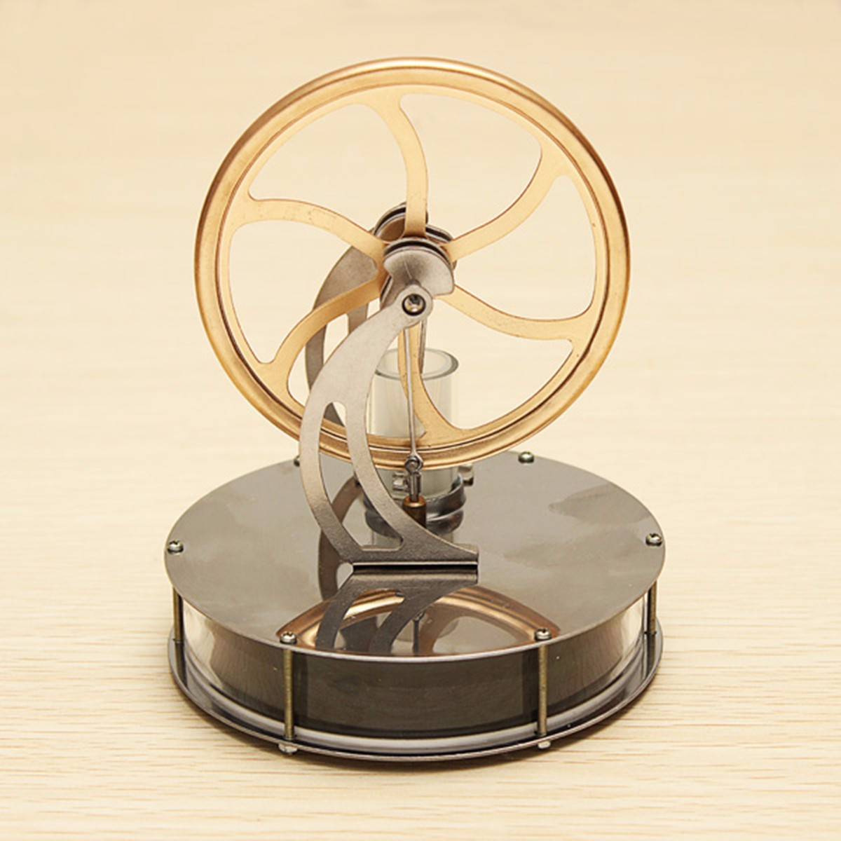 Low Temperature Stirling Engine Motor Model Cool No Steam Children Kid School Educational Equipment Education Teaching Toy GiftLow Temperature Stirling Engine Motor Model Cool No Steam Children Kid School Educational Equipment Education Teaching Toy Gift