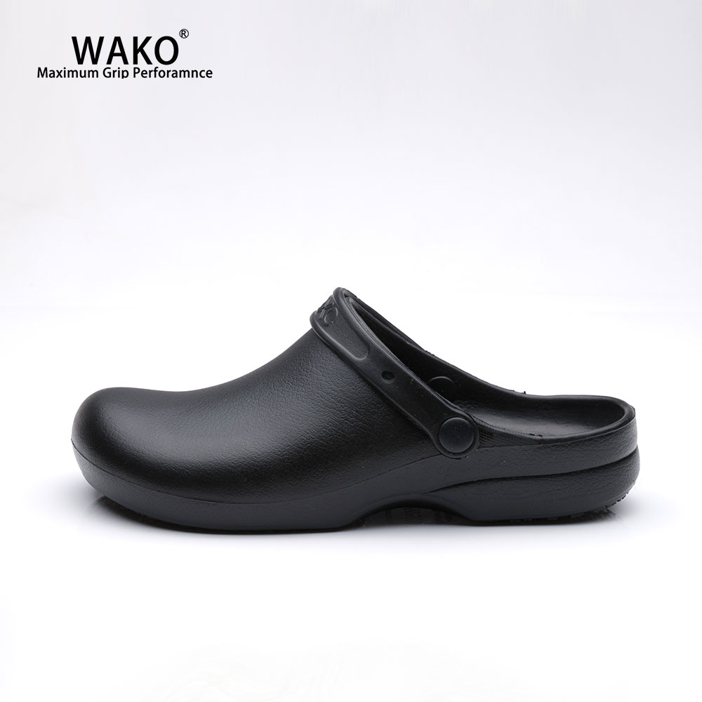 WAKO Chef Shoes Men Women Non Slip Kitchen Working Shoes Waterproof Oil proof Anti Skid Cook