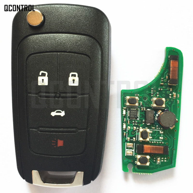 Image 4 - QCONTROL Car Smart Remote Key for Chevrolet 433MHz ID46 Chip Keyless go Comfort access-in Car Key from Automobiles & Motorcycles
