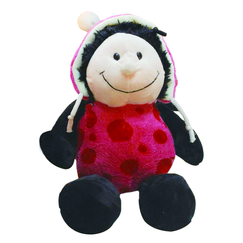 1pc 10 25cm Hot Sale Nici plush toy stuffed doll Pink Ladybug Ladybird lover christmas birthday gift kids toys stuffed animal 44 cm plush standing cow toy simulation dairy cattle doll great gift w501