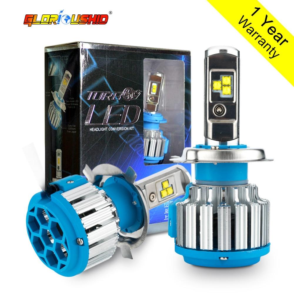 H4 Hi / Lo LED HB2 9003 Led Nagyteljesítményű 80W 8000lm 6000k - Autó világítás