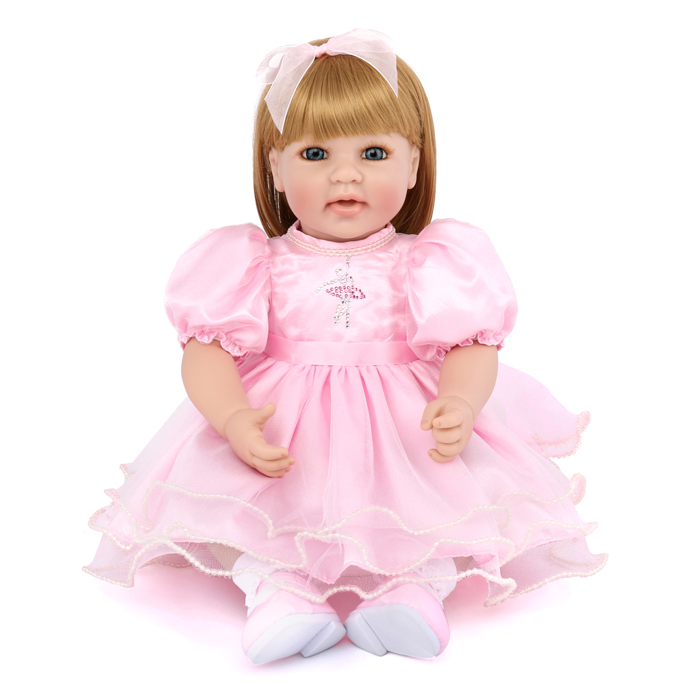 20inch Handmade Cotton Body Reborn Bebe Dolls Alive Dolls 50cm Baby Reborn Silicone Dolls for Girls Kids Toys Gift wenger сумка wenger w16 05