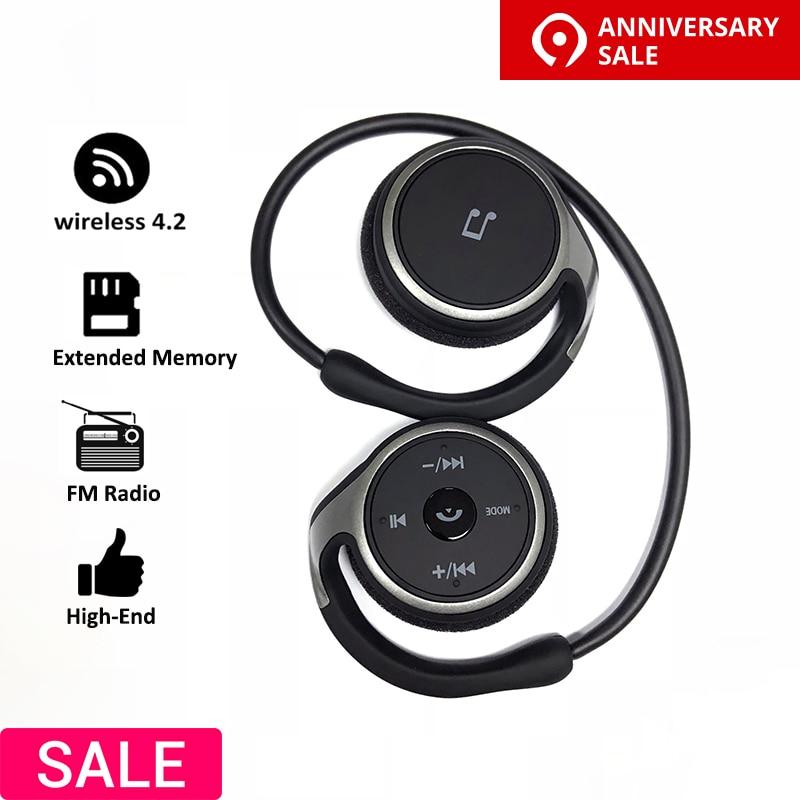 Wireless headphones MP3 Player Wireless Bluetooth earphone music headset sport portable MP3 Player walkman headphones for Phone