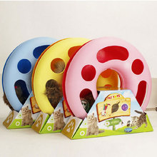 Pet products Mice Training Amusement Disk Multifunctional Disk Play Activity Funny hamsters Pet Cat Toy