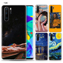 Case for Huawei P30 P20 P10 P9 Mate 10 20 Lite Pro Mobile Cell Phone Bag P Smart Z 2019 Plus Van gogh Oil Painting P8 P30Pro P20(China)