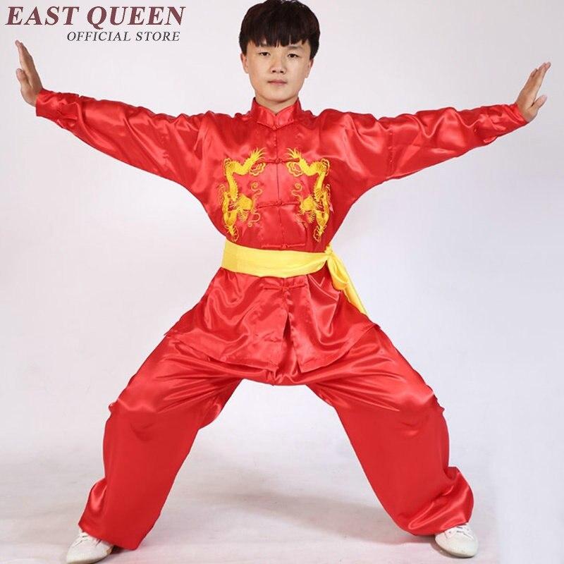 Kung Fu Uniform Kung Fu Clothes Chinese Traditional Kung Fu Clothing China Martial Arts Practicing Clothing 6XL AA2705 YQ