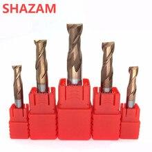 Фреза HRC55 сплав вольфрамовое покрытие стальной инструмент 2 лезвия концевые фрезы оптом топовая твердость фрезерные машинные фрезы для металла