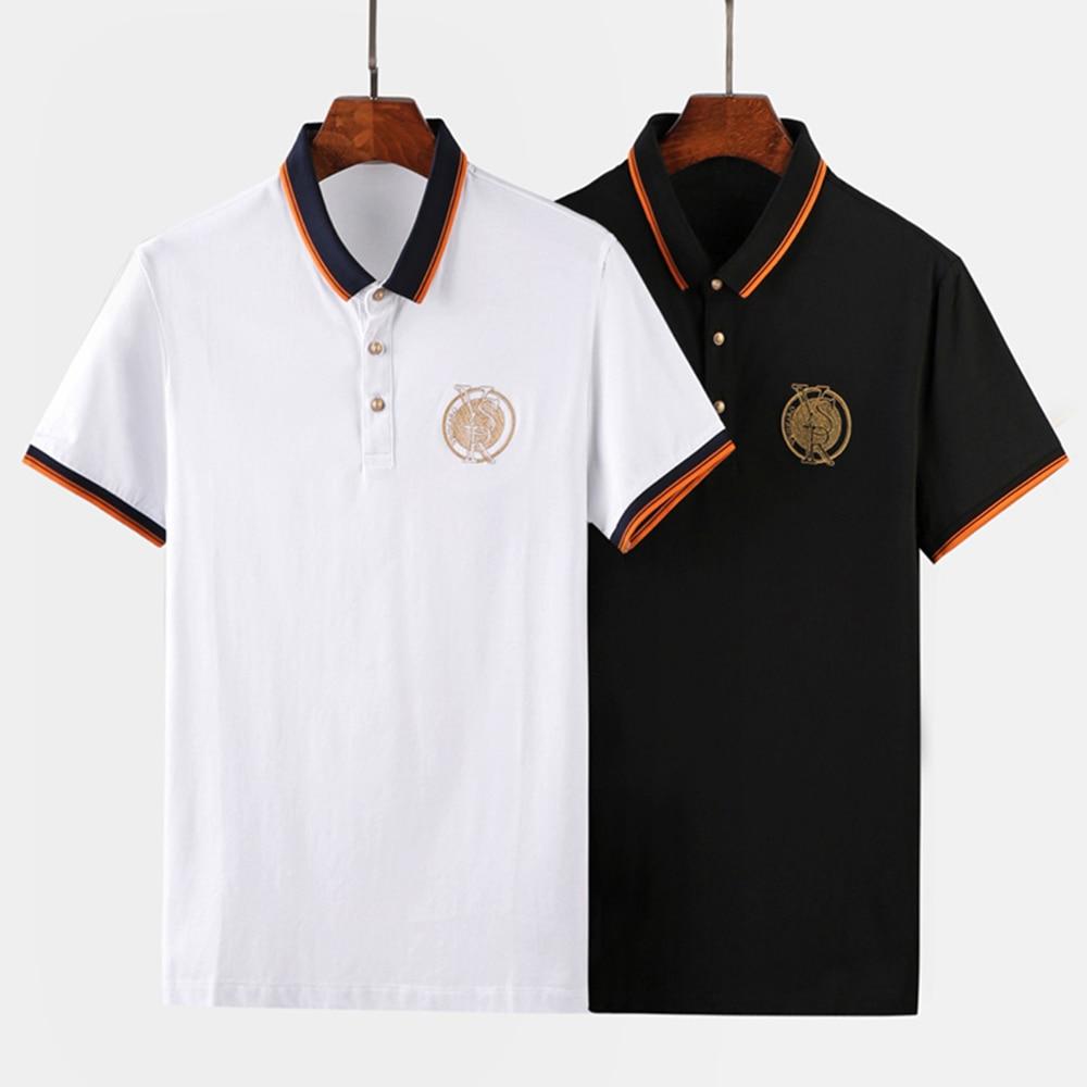 Plus Size M 2XL Brand New Men's Polo Shirt High Quality Men Cotton Short Sleeve shirt Brands jerseys Summer Mens polo Shirts T