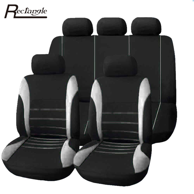 9 Set Full Seat Covers for Car Crossovers High Quality Universal Protect Car Seat Cover Sedans Auto Interior Styling Decoration