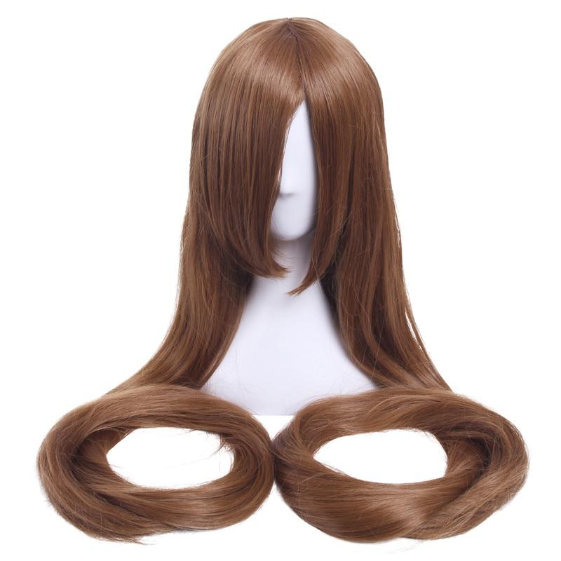 L-email wig 60inch 150cm Långa Kvinnor Cosplay Parycken 9 Färger - Syntetiskt hår - Foto 4
