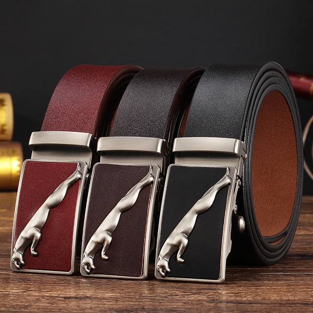 Fashion designer leather strap male automatic buckle belts for men authentic girdle trend men's belts ceinture,cinto masculino