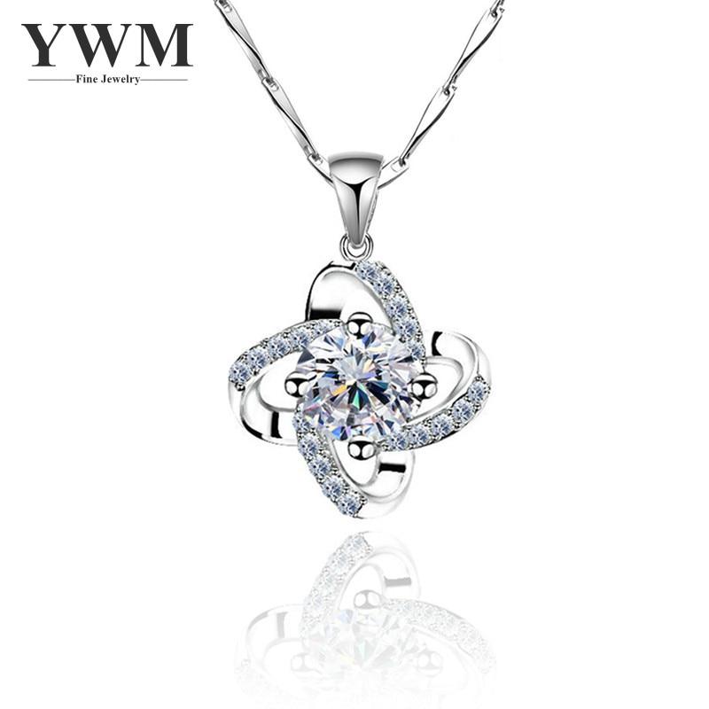 YWM JEWELS 100% ezüst 925 Guardian csillag medál nyaklánc - Finom ékszerek