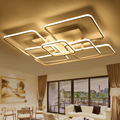 Modern LED Ceiling Light Creative Living Room Bedroom Ceiling Lamp Luminarias Para Sala Dimming LED Ceiling Lamp Deckenleuchten