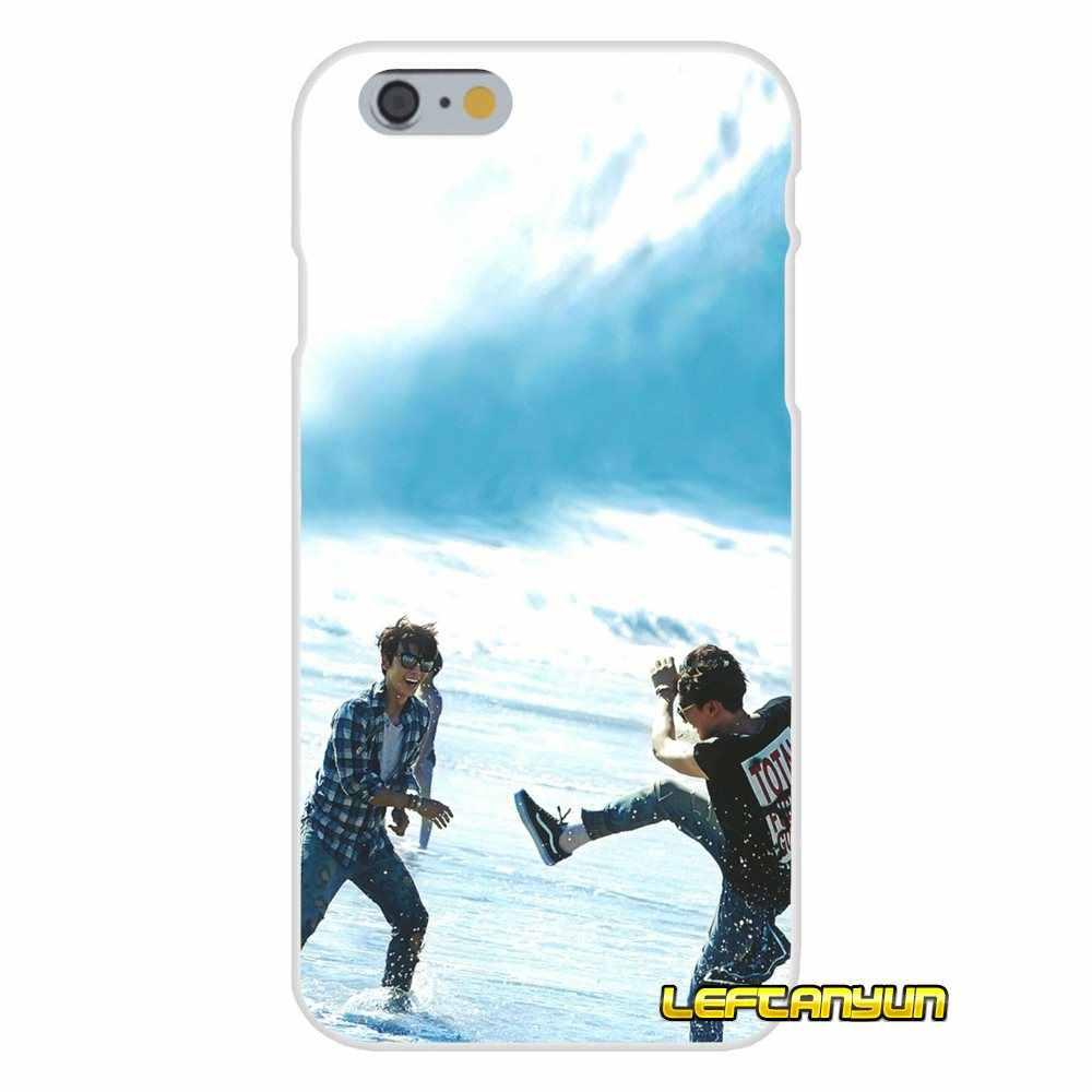 Аксессуары телефон оболочки охватывает Super Junior kpop Бэнда для huawei P8 P9 P10 Lite 2017 честь 4C 5X 5C 6X Коврики 7 8 9 10 Pro