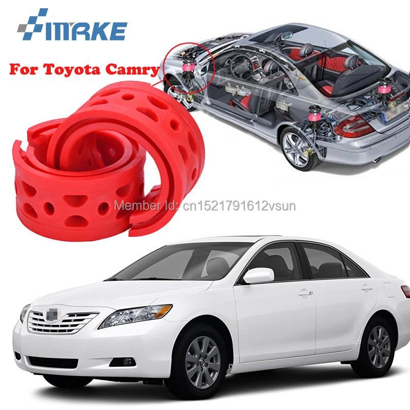 Smrke для Toyota Camry высокого качества спереди/сзади Авто Амортизатор Весна Бампер мощность Подушка буфера