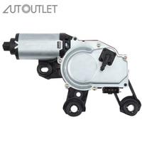 AUTOUTLET Rear Windscreen Wiper Motor For Audi A3 8P A4 A6 Q5 Q7 8E9955711A 8E9955711E