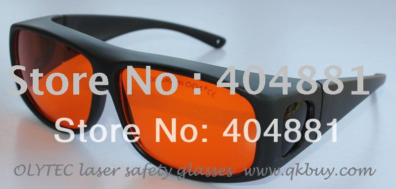 laser safety eyewear 200-540nm O.D 4+ CE certified for blue and green lasers 2940nm laser safety eyewear 2940nm o d 4 ce certified