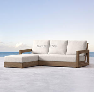 Garden-Set Furniture Lounge Patio Sectional Outdoor Chaise Sofas Teak Leisure High-End