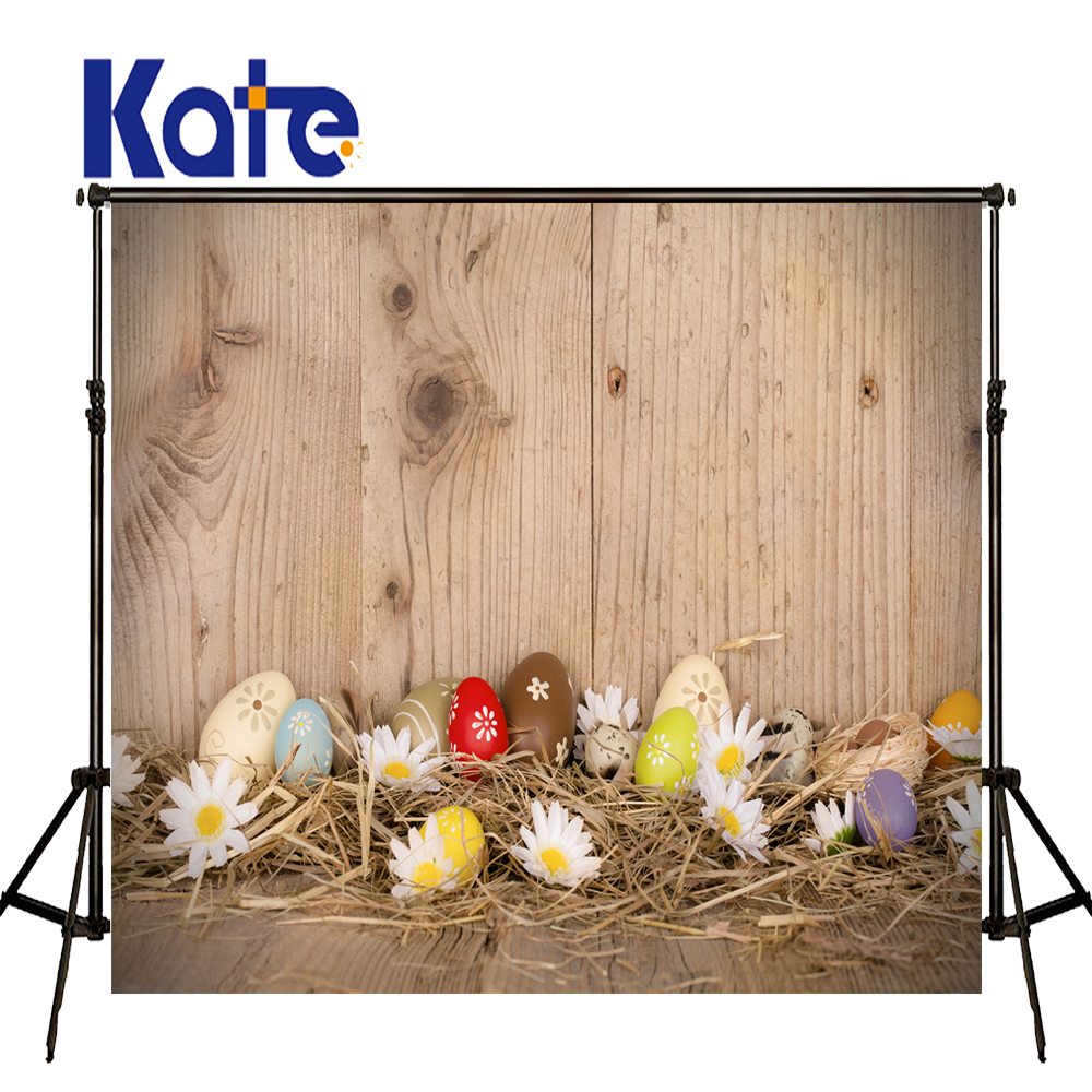Easter Photography Backdrops Hay Wood Walls Eggs Studio Photo Easter Day Zj easter day basket branch bunny photo studio background easter photography backdrops