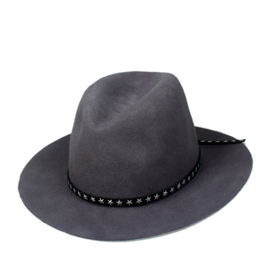 6 шт./партия, Новая модная женская и мужская шерстяная шляпа Fedora войлочная Панама женская элегантная мягкая Шляпа Дерби мягкая фетровая шляпа